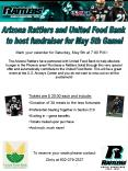 Arizona Rattlers and United Food Bank PowerPoint PPT Presentation