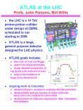 ATLAS at the LHC    Profs. John Parsons, Bill Willis PowerPoint PPT Presentation