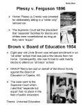 Molly Moor Plessy v. Ferguson 1896 PowerPoint PPT Presentation