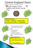 Central England Darts PowerPoint PPT Presentation