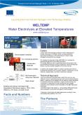 WELTEMP Water Electrolysis at Elevated Temperatures www.weltemp.eu PowerPoint PPT Presentation