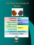 Ten Plus Two Kinds of Words PowerPoint PPT Presentation
