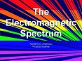 The Electromagnetic Spectrum PowerPoint PPT Presentation