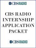 CBS RADIO INTERNSHIP APPLICATION PACKET PowerPoint PPT Presentation