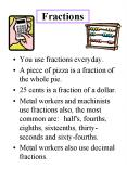 Fractions PowerPoint PPT Presentation