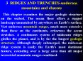 3 RIDGES AND TRENCHESundersea mountains and chasms PowerPoint PPT Presentation