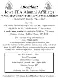 Attention: Iowa FFA Alumni Affiliates PowerPoint PPT Presentation
