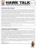 Hilburn Drive Elementary Newsletter PowerPoint PPT Presentation