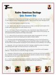 Native American Heritage Quiz Answer Key PowerPoint PPT Presentation