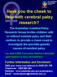 Have you the cheek to help with cerebral palsy research PowerPoint PPT Presentation