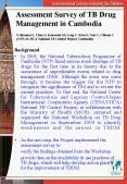 Assessment Survey of TB Drug Management in Cambodia Uchiyama Y, Chay S, Kousoum M, Leng C, Kien S, N PowerPoint PPT Presentation