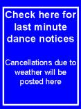 Check here for last minute dance notices PowerPoint PPT Presentation