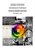 UNIVERSITY OF MANCHESTER DEPARTMENT OF ART HISTORY POSTGRADUATE SYMPOSIUM ARTISTIC CROSSPOLINATIONS PowerPoint PPT Presentation