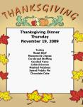 Thanksgiving Dinner PowerPoint PPT Presentation