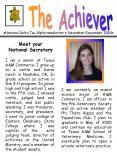 National Delta Tau Alpha newsletter NovemberDecember 2004 PowerPoint PPT Presentation