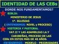 IDENTIDAD DE LAS CEBs PowerPoint PPT Presentation