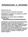 INTRODUCCION  A  OPCIONES PowerPoint PPT Presentation