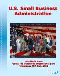 U'S' Small Business Administration PowerPoint PPT Presentation