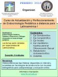 Curso de Actualizacin y Perfeccionamiento de Endocrinologa Peditrica a distancia para Latinoamrica I PowerPoint PPT Presentation