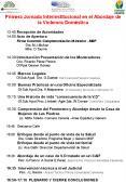 Primera Jornada Interinstitucional en el Abordaje de la Violencia Domstica PowerPoint PPT Presentation