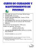 CURSO DE CUIDADOR Y MANTENIMIENTO DE PISCINAS PowerPoint PPT Presentation