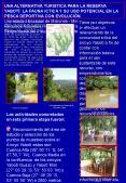 La Reserva de Biosfera Yaboti, se localiza en el centro-este de la Provincia de Misiones, abarca una superficie de 253.773 ha, se compone de un 80% de propiedades privadas y un 20% de  PowerPoint PPT Presentation