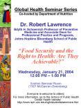 Global Health Seminar Series PowerPoint PPT Presentation