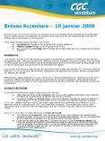Brves Accenture 10 janvier 2008 PowerPoint PPT Presentation