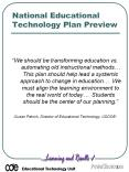 National Educational Technology Plan Preview PowerPoint PPT Presentation