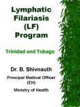 Lymphatic Filariasis LF Program PowerPoint PPT Presentation