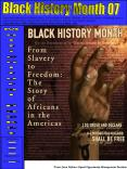 Black History Month 07 PowerPoint PPT Presentation