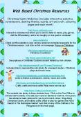 Web Based Christmas Resources ChristmasSanta Websites: includes interactive websites, screensavers, PowerPoint PPT Presentation