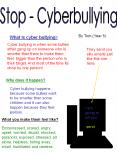 Stop Cyberbullying PowerPoint PPT Presentation