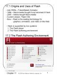 17.1 Origins and Uses of Flash PowerPoint PPT Presentation