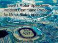 Lowes Motor Speedway Incident Command Protocol for Mock Bioterrorism Event PowerPoint PPT Presentation