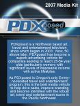 PDXposed is a Northwest based art, travel and entertainment television show which began in 2003. Now PowerPoint PPT Presentation