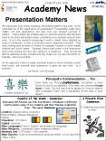 Academy News PowerPoint PPT Presentation