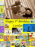 Happy 3rd Birthday, Carolyn PowerPoint PPT Presentation