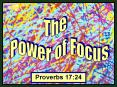 Proverbs 17:24 PowerPoint PPT Presentation