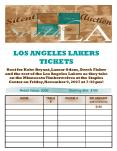 LOS ANGELES LAKERS TICKETS PowerPoint PPT Presentation