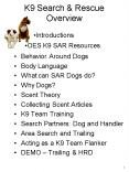 K9 Search PowerPoint PPT Presentation