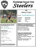 2007- Present RSC Steelers goalkeeper. 2007 AHS Varsit PowerPoint PPT Presentation