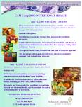 CAM Camp 2005: NUTRITIONAL HEALTH PowerPoint PPT Presentation