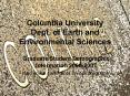 Columbia University Dept. of Earth and Environmental Sciences PowerPoint PPT Presentation