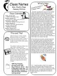 Class Notes PowerPoint PPT Presentation