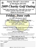 Deputy Sheriffs Association of Michigan DSAM 2009 Charity Golf Outing Public Safety Scholarship Fund PowerPoint PPT Presentation