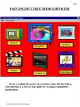 PAINTING PICTURES THROUGH POETRY PowerPoint PPT Presentation