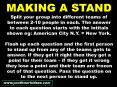 MAKING A STAND PowerPoint PPT Presentation