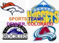 SPORTS TEAMS OF DENVER, COLORADO PowerPoint PPT Presentation