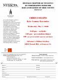 CHRIS COLLINS PowerPoint PPT Presentation